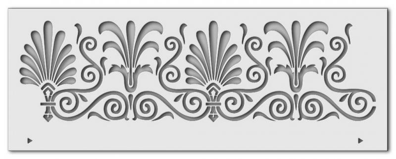 Kleinesbild - Schablone Bordüre 1, 40 x 15 cm
