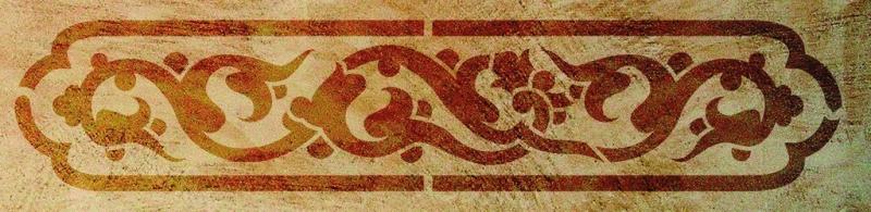 - Schablone Historical 1, 40 x 15 cm - Schablone Historical 1, 40 x 15 cm