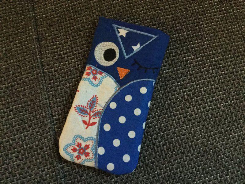 - Handytasche EULE - Smartphonetasche aus Stoff - Handytasche EULE - Smartphonetasche aus Stoff