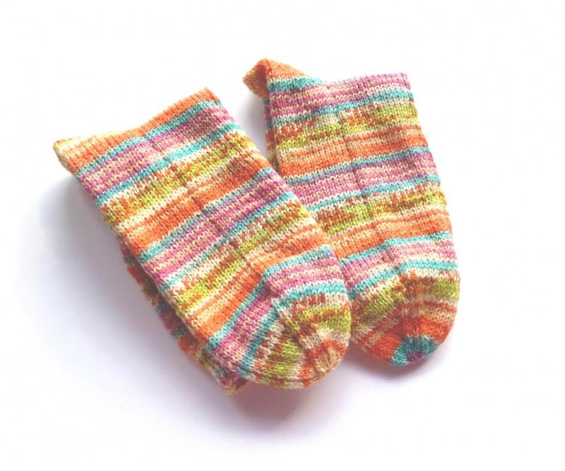 Kleinesbild - Socken Gr. 36/37 ♥ Socken - Handgestrickte Socken ♥ Kindersocken - Die kleine Bastelwerkstatt