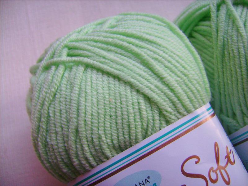 - Strickgarn Cotton soft Fb. 31, grün, Baumwolle-mischgarn, Nadelstärke 3-4       - Strickgarn Cotton soft Fb. 31, grün, Baumwolle-mischgarn, Nadelstärke 3-4