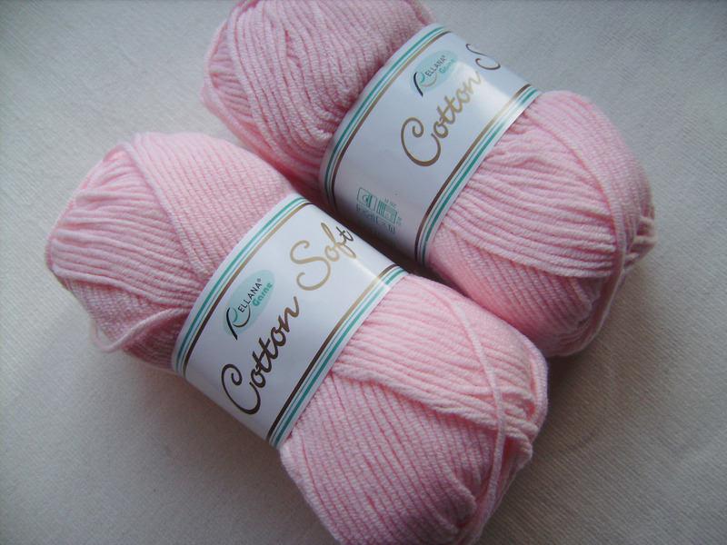 Kleinesbild - Strickgarn Cotton soft Fb.  10, rosa, Baumwolle-mischgarn, Nadelstärke 3-4