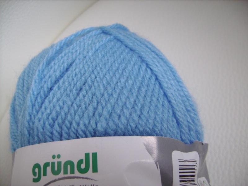 Kleinesbild - günstiges Strickgarn, Lisa premium Fb. 17, himmlblau, Nadelstärke 3-4, Polyacryl,