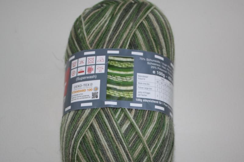 Kleinesbild - Sockenwolle Soxs4color Fb. 787, musterbildend, 4-fach