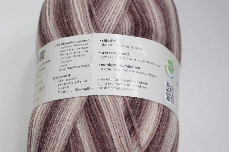 Kleinesbild - Sockenwolle Austermann Step 4 Holiday Fb. 198, farbverlaufend, musterbildend, 4-fach, EXP