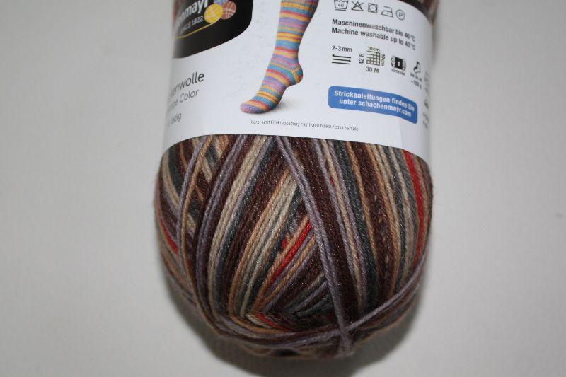 Kleinesbild - Sockenwolle  Schachenmayr  Fun stripe color Fb. 3730, streifenbildend, 4-fach