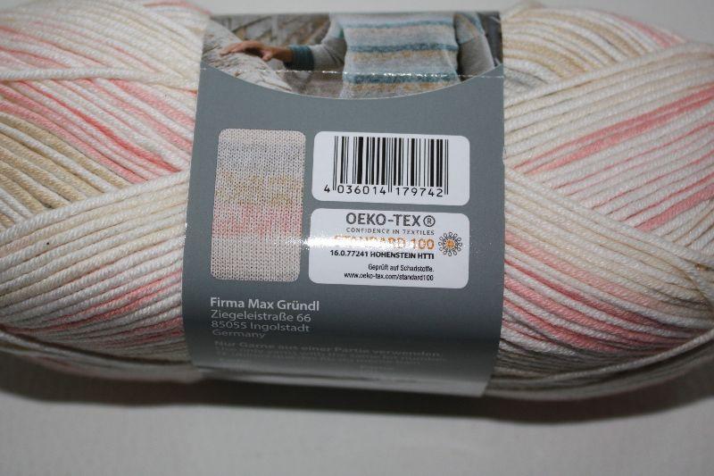 Kleinesbild -  Baumwolle-Mischgarn Cotton soft color Fb. 5, langrapportiger Farbverlauf