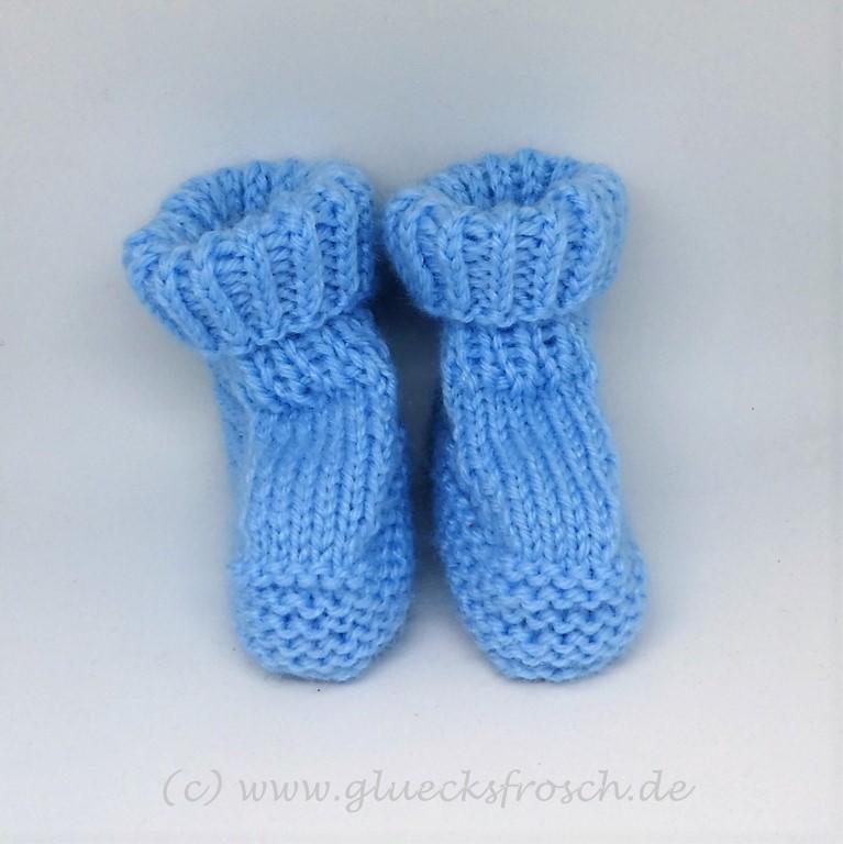 - Babyschuhe superweich und hellblau - Babyschuhe superweich und hellblau