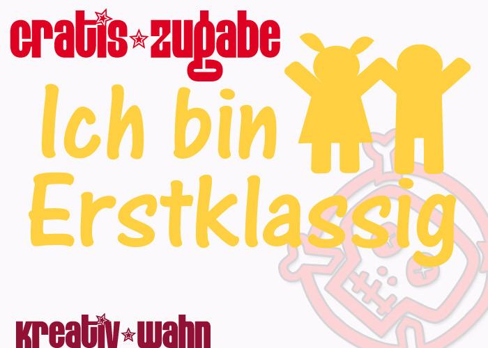 Kleinesbild - Schultüten-Set WUNSCHNAME + EINHORN + Gratis Bügelbild