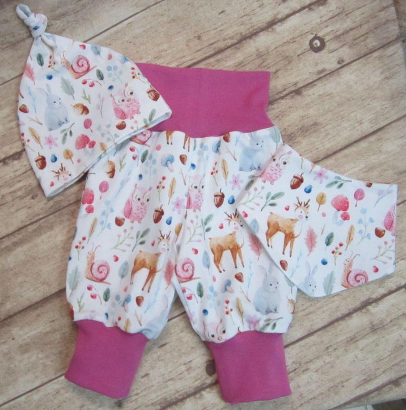 -   Babyset 3-teilig Gr. 62  ♥   mit süßen Waldtieren -   Babyset 3-teilig Gr. 62  ♥   mit süßen Waldtieren