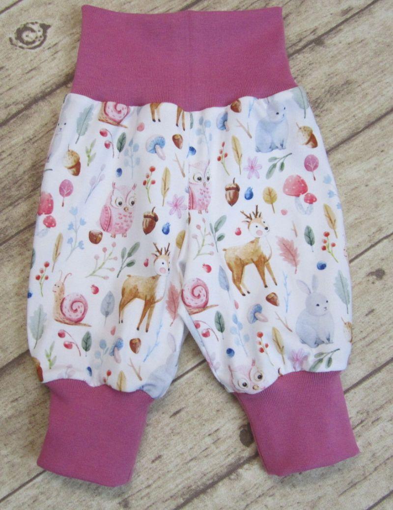 Kleinesbild -   Babyset 3-teilig Gr. 62  ♥   mit süßen Waldtieren
