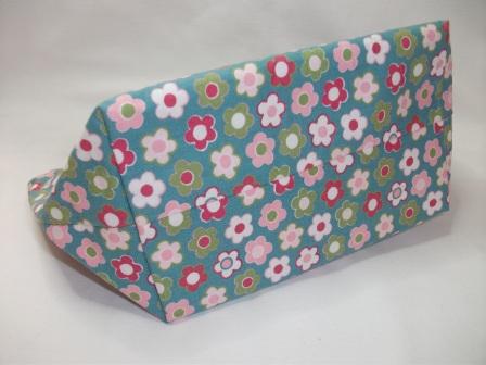 Kleinesbild - Tasche genäht mit Blütenmuster kaufen