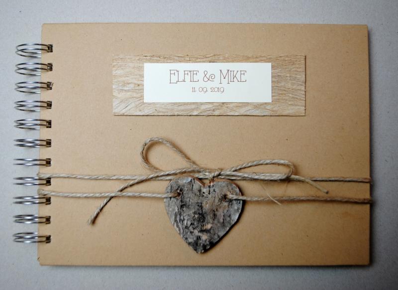 Anlasse Gastebuch Hochzeit Vintage Mit Herz