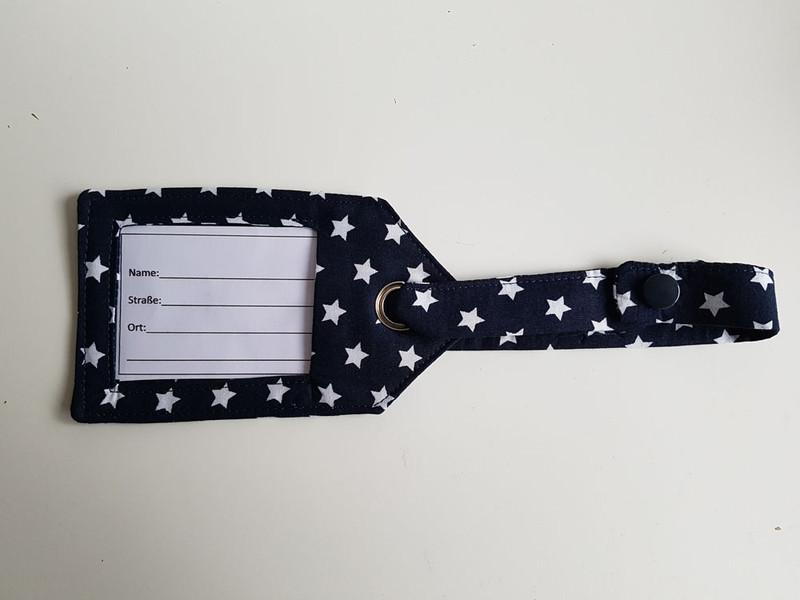 Kleinesbild - Kofferanhänger, Taschenanhänger, Adressanhänger