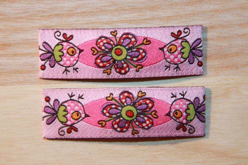 - Haarspangenset 2 Stück Haarspangen rosa, Bliss Bird, Janeas World  - Haarspangenset 2 Stück Haarspangen rosa, Bliss Bird, Janeas World