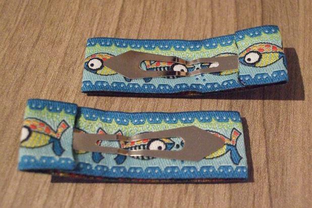 Kleinesbild - Haarspangenset 2 Stück Haarspangen Fische, Cala Mario