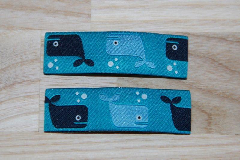 - Haarspangenset 2 Stück Haarspangen Wal, Wale, hellblau, dunkelblau - Haarspangenset 2 Stück Haarspangen Wal, Wale, hellblau, dunkelblau
