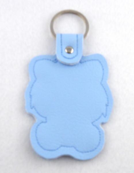 Kleinesbild - Schlüsselanhänger Kätzchen Leder