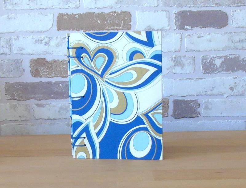 - Notizbuch A6 Ornamente blau gold // Blankobuch // Tagebuch // Geschenk // Geburtstag - Notizbuch A6 Ornamente blau gold // Blankobuch // Tagebuch // Geschenk // Geburtstag
