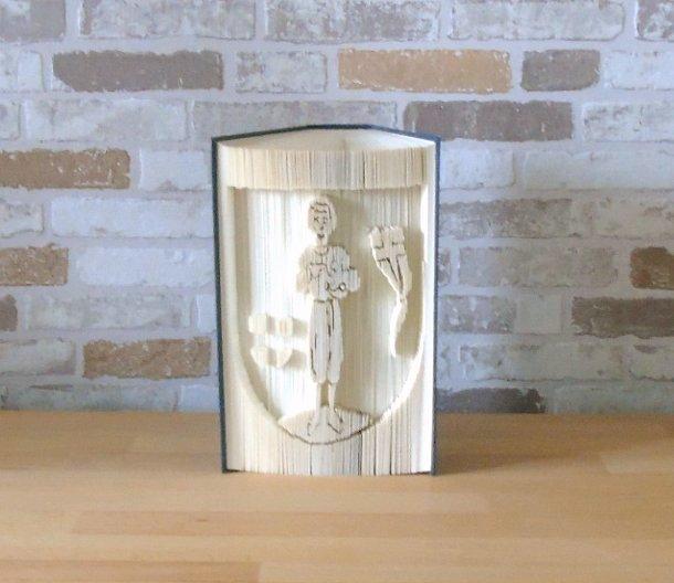 - gefaltetes Buch - Wappen auf Wunsch // Stadtwappen // Buchkunst // Bookfolding // Geschenk - gefaltetes Buch - Wappen auf Wunsch // Stadtwappen // Buchkunst // Bookfolding // Geschenk