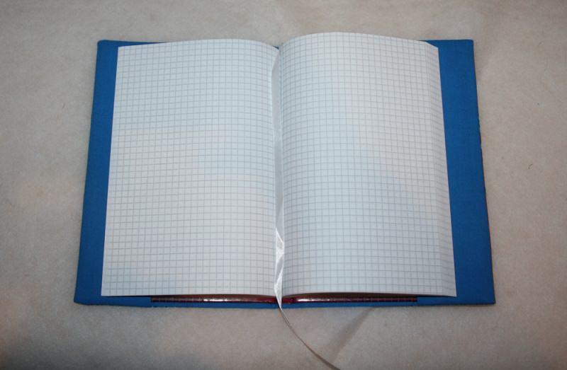 Kleinesbild - Notizbuch mit Buchhülle A5 - Eulen auf dem Ast - what a hoot
