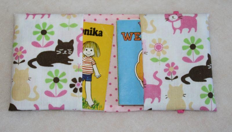 Kleinesbild - Hülle für Minibücher - Büchertasche für Minibücher