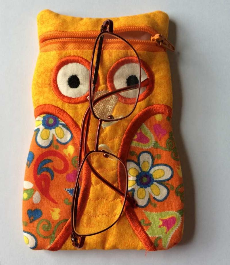 - Kleine Eulentasche für die Brille, Libre Lesegerät oder Anderes - Kleine Eulentasche für die Brille, Libre Lesegerät oder Anderes