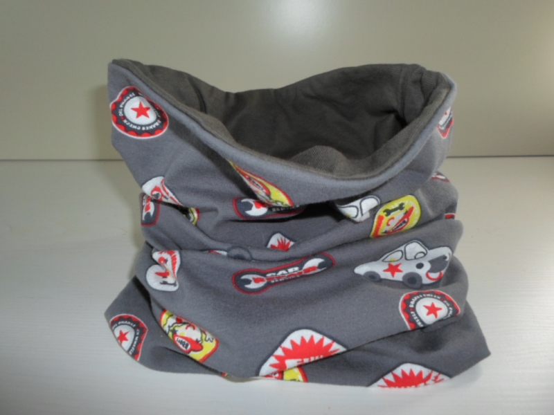 - Kinder-Loop Schal Schlauchschal *Ragazzo* bunt/ Jersey von friess-design  - Kinder-Loop Schal Schlauchschal *Ragazzo* bunt/ Jersey von friess-design