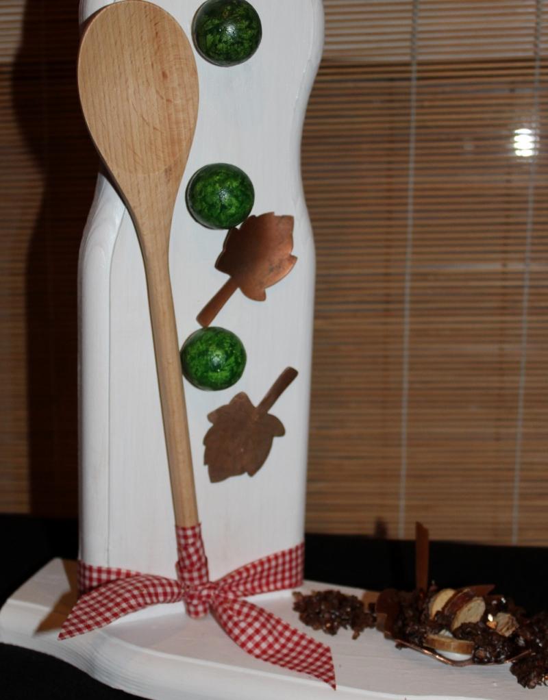 Kleinesbild - Schneemann COOKIE SNOWMAN Figur Herbstdeko Künstlerfigur Winterdeko Geschenk für Köche