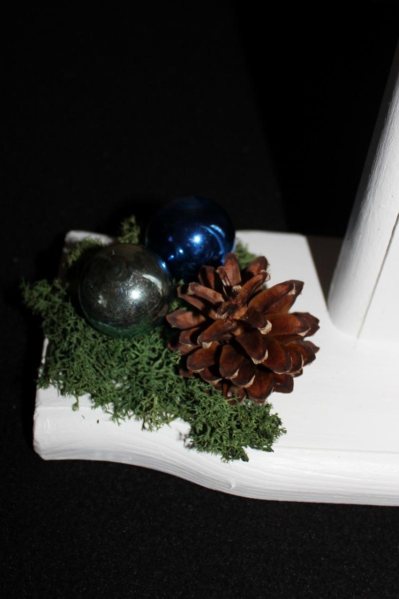 Kleinesbild - Schneemann Weihnachtsdeko TOMMY SNOWMAN Figur Herbstdeko Künstlerfigur Winterdeko Geschenk