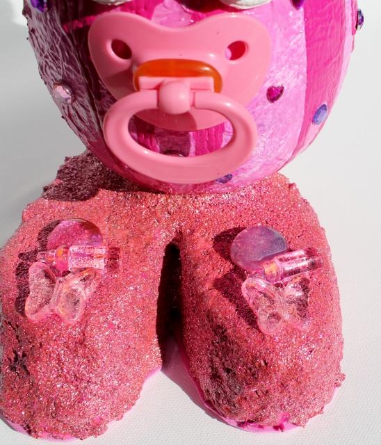 Kleinesbild - Osterfigur JILLY EIERMEIER Ostergeschenk Skulptur Ei Künstler-Ei Osterei  zut Geburt