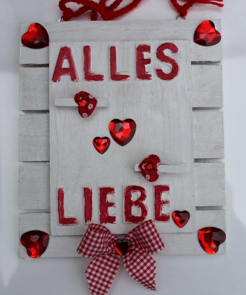 Kleinesbild - Geldgeschenk ALLES LIEBE  Geschenk Vatertag  Geburtstag Ostern Weihnachten Hochzeit Valentinstag Muttertag Shabby Stil