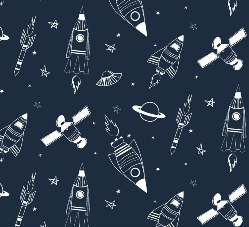 - 50cm Single Jersey Stoff Meterware Kinderstoff / Bekleidungsstoff Hergestellt nach ÖkoTex100 Weltall Rakete Astronaut - 50cm Single Jersey Stoff Meterware Kinderstoff / Bekleidungsstoff Hergestellt nach ÖkoTex100 Weltall Rakete Astronaut