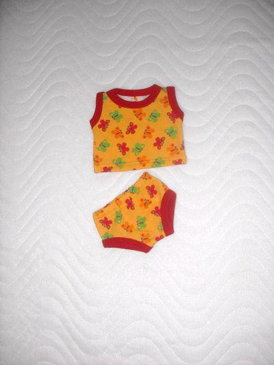 - Puppenkleider Puppen Unterwäsche Hemd und Slip 32-33 cm - Puppenkleider Puppen Unterwäsche Hemd und Slip 32-33 cm