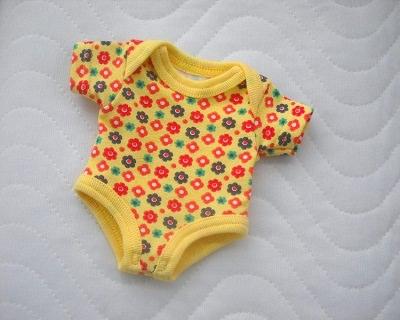 - Handgemachter Baumwolljersey Puppen Body Unterwäsche ca. 26-27 cm  - Handgemachter Baumwolljersey Puppen Body Unterwäsche ca. 26-27 cm