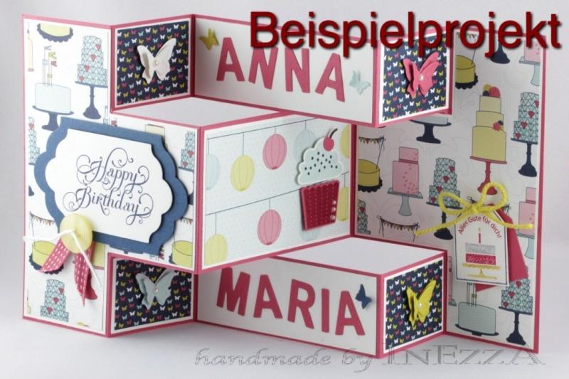 Kleinesbild - Designerpapier Set Straßenfest Probepaket Stampin Up