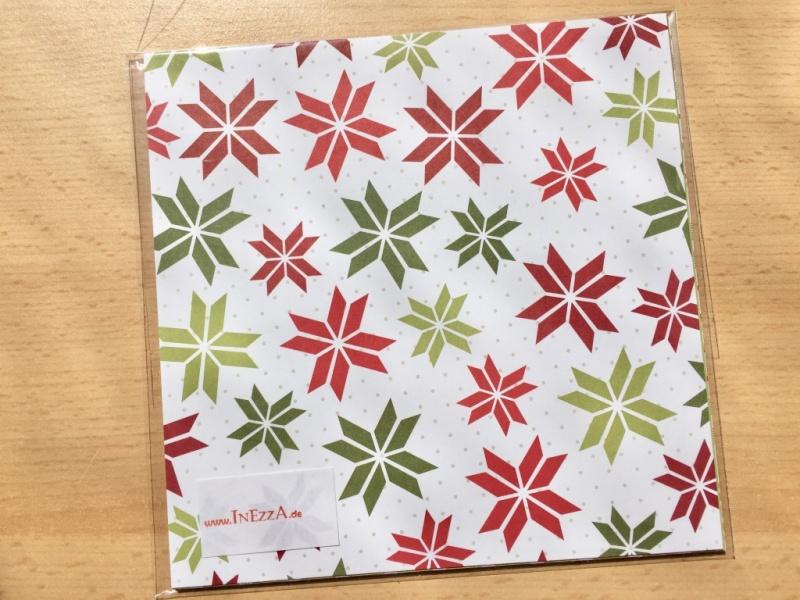 Kleinesbild - Designerpapier Set Fröhliche Feiertage Probepaket Stampin Up
