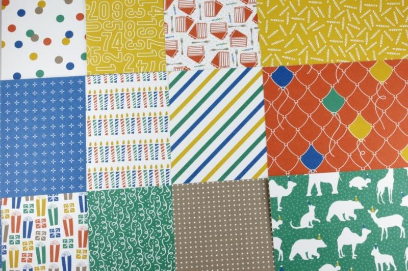 - Designerpapier Set Für Partylöwen Probepaket Stampin Up - Designerpapier Set Für Partylöwen Probepaket Stampin Up
