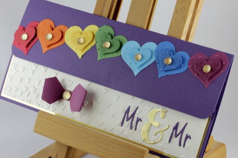 - Geschenkverpackung für Konzertkarte zur Hochzeit ♥ Mr. & Mr. ♥ Homo-Ehe - Geschenkverpackung für Konzertkarte zur Hochzeit ♥ Mr. & Mr. ♥ Homo-Ehe