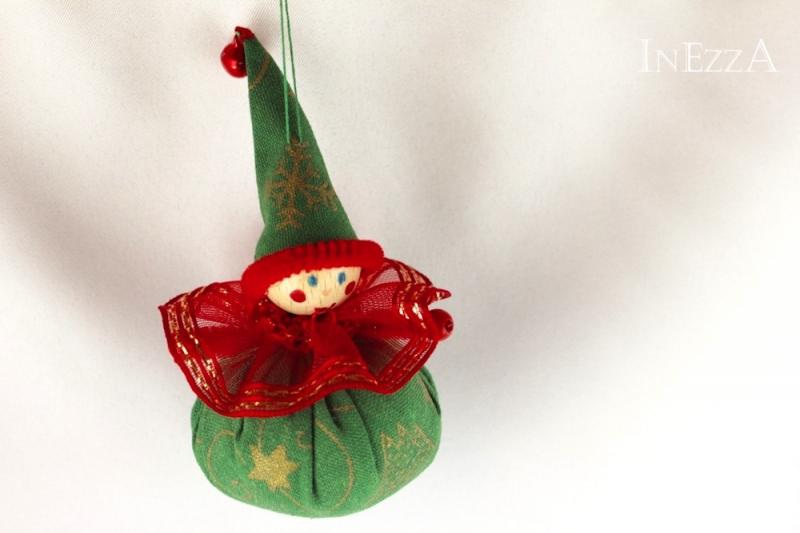 Kleinesbild - Wichtel 3er Set Geschenkanhänger Baumanhänger Weihnachtsdeko Mitbringsel Handarbeit