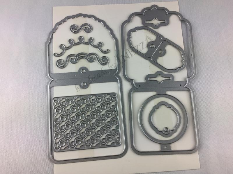 Kleinesbild - Stempelset Nette Etiketten & Thinlits Einfach Angehängt NEU Stampin Up
