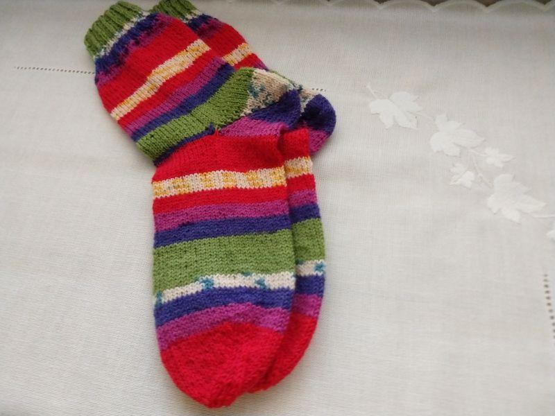 - Handgestrickte Socken Gr. 36/37   - Handgestrickte Socken Gr. 36/37