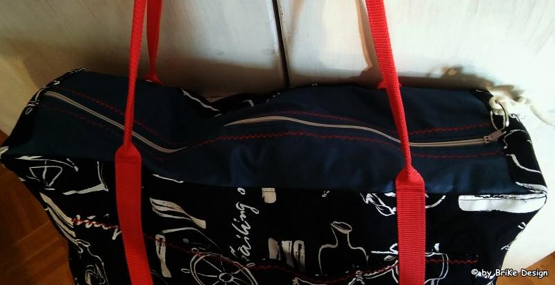 Kleinesbild -  ☆Weekender/Reisetasche/Sporttasche☆ mit Krimskrams-Tascherl handmade BriKe Design