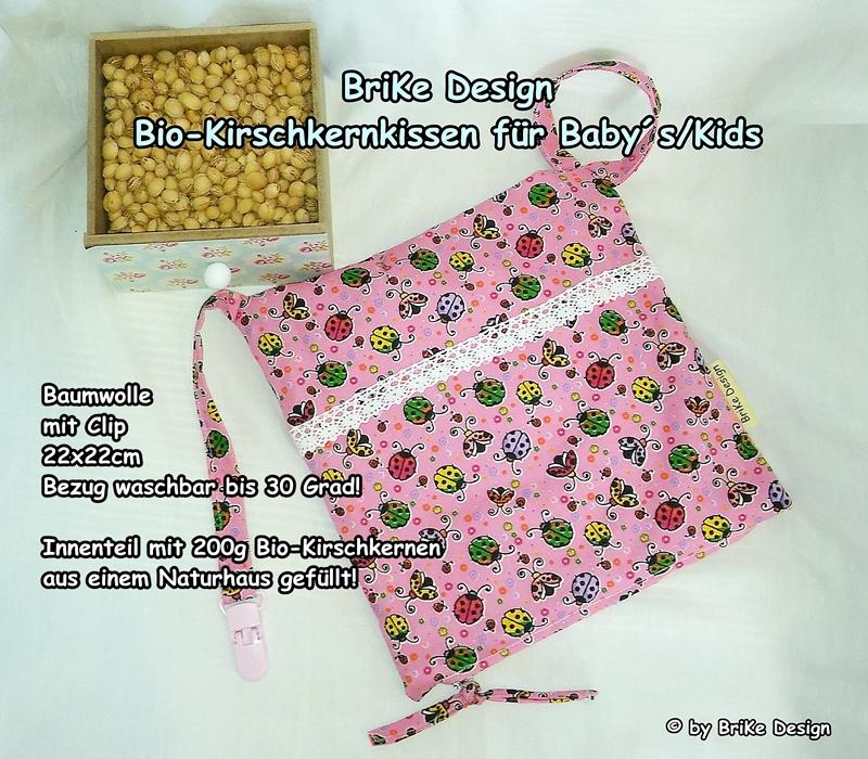 -  ♡Bio-Kirschkernkissen Marienkäfer♡ handmade BriKe Design  -  ♡Bio-Kirschkernkissen Marienkäfer♡ handmade BriKe Design