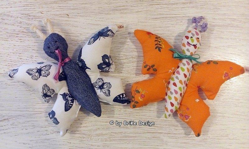 Kleinesbild -  ♡Schmetterlingskind orange♡ zum Liebhaben und Kuscheln! handmade BriKe Design