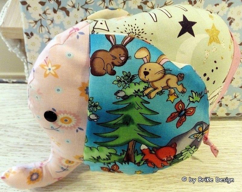 Kleinesbild -   ♥Kuschelfanten-Set♥ Waldtiere♥ zum Liebhaben und Kuscheln! handmade BriKe Design
