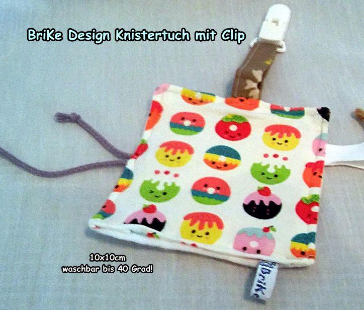 -  ♥Knistertuch Cupcake♥ mit Clip handmade BriKe Design -  ♥Knistertuch Cupcake♥ mit Clip handmade BriKe Design