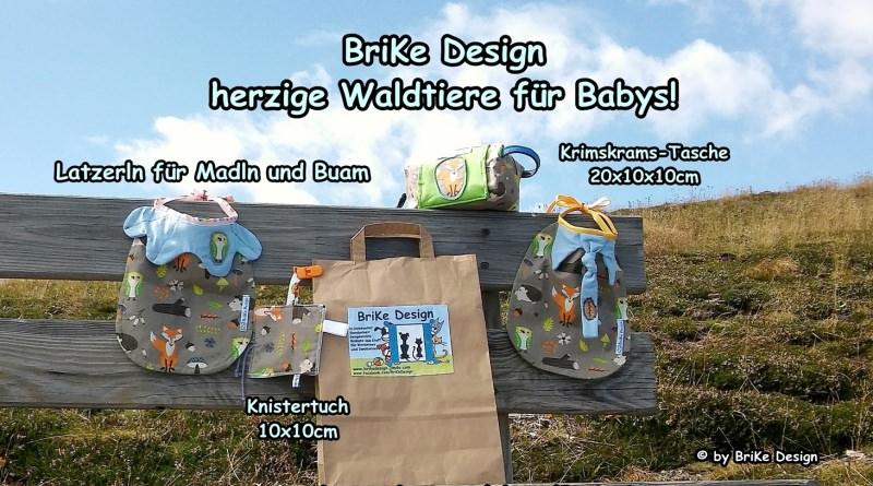 Kleinesbild -  ♡Lätzchen Waldtiere mit Kragen♡ handmade BriKe Design