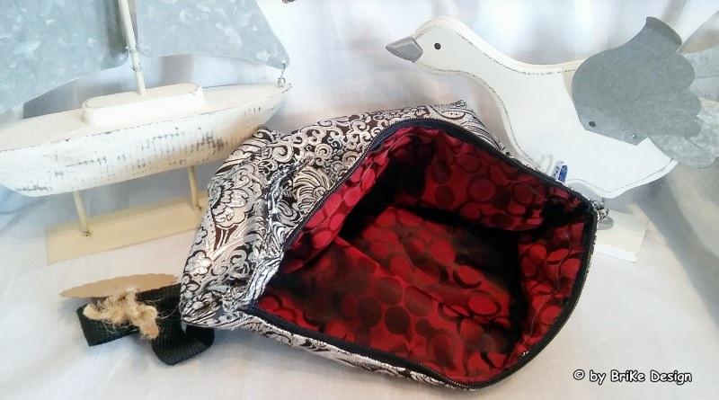 Kleinesbild -  ☆Krimskrams-Tascherl silber/edel☆ handmade BriKe Design