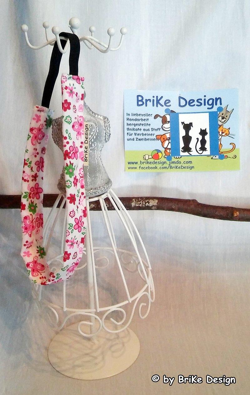 -  ☆Haarband rosa Blumen/breit☆ handmade BriKe Design -  ☆Haarband rosa Blumen/breit☆ handmade BriKe Design